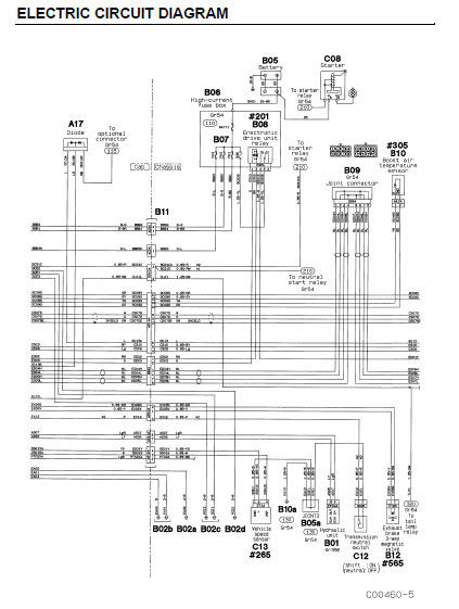 Mitsubishi 2007 Fuso Fe Fe84 Fe85 Oem Service Repair Fsm Manual   Wiring Diagram