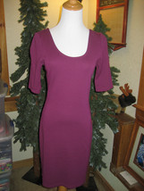 H&M Knee Length Rayon Blend Body Con Dress Size 8 - $11.99