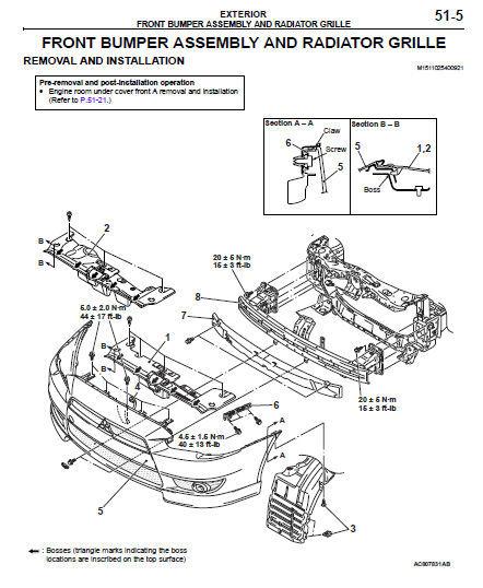mitsubishi 2012 2013 lancer sportback service repair. Black Bedroom Furniture Sets. Home Design Ideas