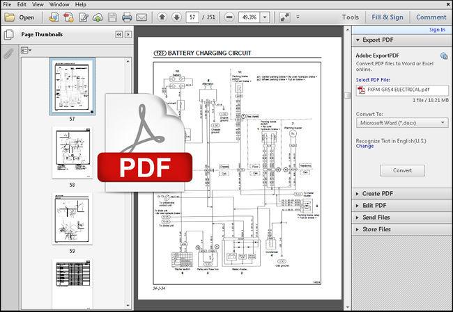 Mitsubishi 1996 - 2001 Fuso Fe Fg Fh Fk Fm Truck Service Manual   Wiring Diagram