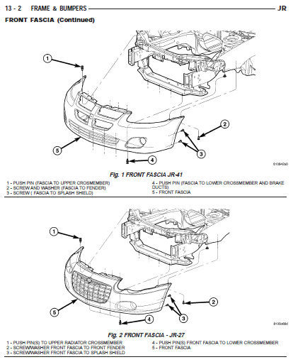 2001 - 2006 chrysler sebring factory service repair manual   wiring diagram