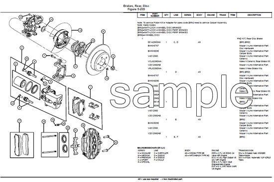 53 dodge truck parts catalog