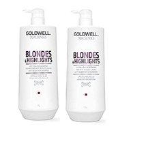 Goldwell Dualsenses - Blonde & Highlights Anti-Yellow Shampoo& Conditioner Liter - $75.00