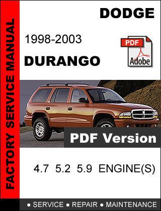 dodge durango service schedule