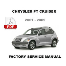 CHRYSLER PT CRUISER 2001 - 2009  FACTORY OEM SERVICE REPAIR WORKSHOP MANUAL - $14.95