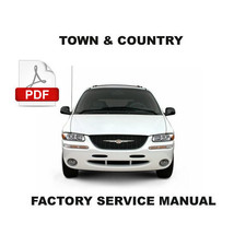 Chrysler Town & Country 1996   2000 Factory Workshop Manual + Wiring Diagram - $14.95