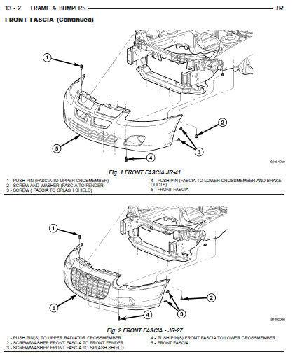dodge stratus 2001 2002 2003 2004 2005 2006 factory service repair oem manual