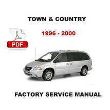 Chrysler Town & Country 1996   2000 Factory Service Manual + Electrical Diagrams - $14.95