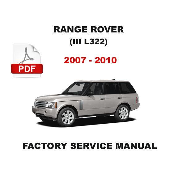 range rover l322 repair manual