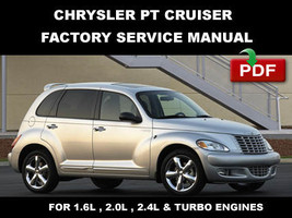 Chrysler Pt Cruiser 2001   2009 1.6 L 2.0 L 2.4 L Factory Service Repair Fsm Manual - $14.95
