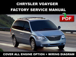 Chrysler Voyager 2006 2007 Ultimate Factory Service Repair Workshop Fsm Manual - $14.95