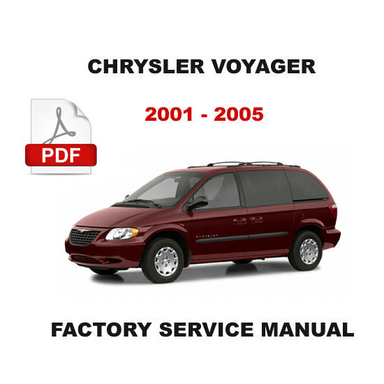 CHRYSLER VOYAGER 2001 - 2005 DIESEL ENGINE FACTORY SERVICE REPAIR SHOP MANUAL