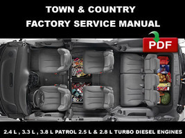 CHRYSLER TOWN & COUNTRY  2001 - 2005 ULTIMATE REPAIR MANUAL + WIRING DIA... - $14.95
