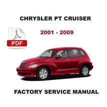 CHRYSLER PT CRUISER 2001 - 2009  OEM FACTORY SERVICE REPAIR WORKSHOP FSM... - $14.95