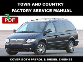 CHRYSLER TOWN & COUNTRY  2006 - 2007 FACTORY OEM REPAIR MANUAL + WIRING ... - $14.95