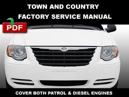 Chrysler Town & Country  2006   2007 Factory Oem Repair Manual + Wiring Diagram - $14.95
