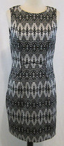 NWT H&M Black/White Patterned Sleeveless Dress ... - $23.75