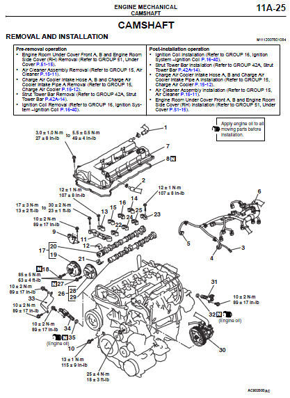 MITSUBISHI LANCER EVOLUTION GSR MR 2010 FACTORY SERVICE REPAIR WORKSHOP MANUAL