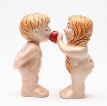 Magnetic Salt and Pepper Shaker - Adam & Eve - $12.86