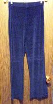 Girls Connection Velvet Pants Navy Blue Girls X... - $6.50