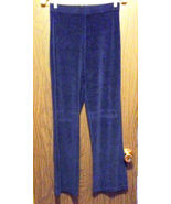 Girls Connection Velvet Pants Navy Blue Girls X... - $6.50