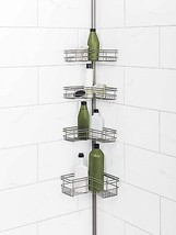 Bathroom Corner Pole Caddy / basket to hold toi... - $45.18