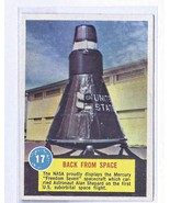 Popsicle Space Card #17 BACK FROM SPACE  - $7.61