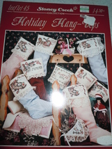 Holiday Hang – Ups Counted Cross Stitch Leaflet 45 Stoney Creek - $4.99