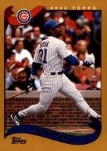 2002 Topps #250 Sammy Sosa - Baseball Card - $0.80