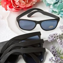 Fashioncraft Perfectly Plain Collection Cool Sunglasses, Black [Misc.]