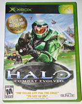 XBOX - HALO - COMBAT EVOLVED (Complete with Manual) - $8.00