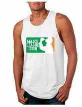 Men's Jersey Tank Top Saint Patrick's Day Major League Irish Irish Shirt - $17.00