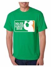 Men's Tee Shirt Saint Patrick's Day Major League Irish Irish Shirt - $17.00