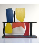 TONY ROSENTHAL COLOR STUDY Painted Steel Unique... - $8,415.00
