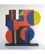 TONY ROSENTHAL COLOR STUDY Painted Steel Table ... - $9,405.00