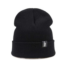 Simple Unisex Hat For Winter Cap Beanies Skullies Knitted Soft And A Sol... - $14.99
