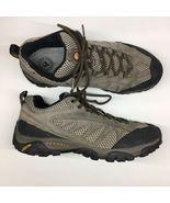 Merrell Men Sz 10.5 Walnut Brown Athletic Trail Hiking Running Shoes Tra... - $46.56