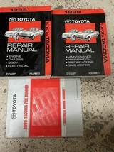 1999 toyota tacoma truck service repair shop workshop manual set oem - $178.14