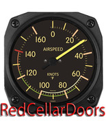 Trintec Vintage Aviation Airspeed Indicator Wall Fahrenhellt Thermometer... - $30.37