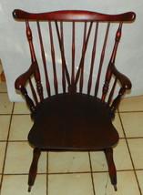 Cherry Rocker / Rocking Chair by Willett - $499.00