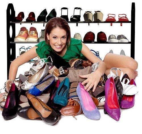 Shoe Rack Closet Storage Space Saver Home Organizer Holder Stand Tier Bedroom FS