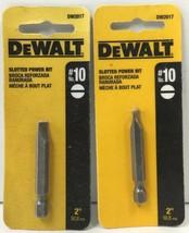 "(New) DEWALT DW2017 2"" Slotted Power Bit #10   Lot of 2 - $14.84"