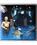 Star Wars R2D2-C3PO Double Switch Plate Cover - $8.75