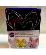 Set of 4 Nested Wilton Bunny Cookie Cutters - $221,28 MXN