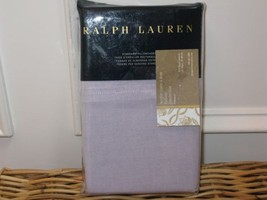 Ralph Lauren LUXURY OXFORD Lavender Standard Pillowcases Haberdashery - $44.60