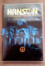 HANSON UNDERNEATH ACOUSTIC LIVE CONCERT DOCUMEN... - $8.99