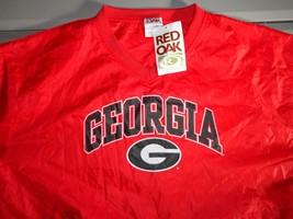 NWT Vintage Red Oak Georgia Bulldogs XL NCAA Lightweight V Neck Pullover... - $27.32
