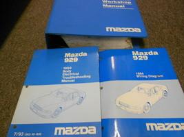 1994 Mazda 929 Service Repair Shop Workshop Manual Set Oem Factory W Ewd + - $168.25