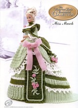 Miss March 1993 Centennial Barbie Doll Outfit Annie's Crochet PATTERN BOOKLET - $2.67