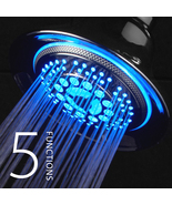 DreamSpa 5-Setting Water Temperature Color-Changing LED Shower Head (All... - $34.87